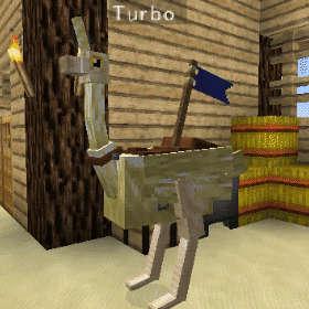飛べないダチョウはただのダチョウです!(第82話):Minecraft_挿絵14
