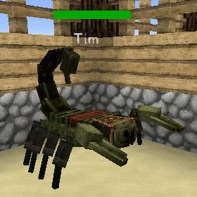 サソリって砂漠に生息する生き物なんじゃないの?(第83話):Minecraft_挿絵16