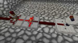年の終わりを花火で祝ってみる(第84話):Minecraft_挿絵24