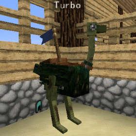 飛べないダチョウはただのダチョウです!(第82話):Minecraft_挿絵20
