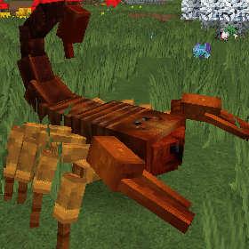 サソリって砂漠に生息する生き物なんじゃないの?(第83話):Minecraft_挿絵1