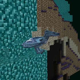 ワイバーンの卵を求めてワイバーンの巣へ!(第86話):Minecraft_挿絵5