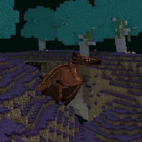 ワイバーンの卵を求めてワイバーンの巣へ!(第86話):Minecraft_挿絵7