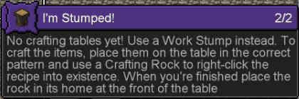 目指せAge Zero!初の作業台Work Stumpを作れ:Minecraft SevTech Ages#2_挿絵7