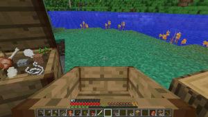 匠の力は借りず、自らの手で拠点を劇的にビフォーアフター:Minecraft SevTech Ages#5_挿絵4