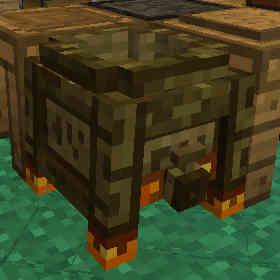 星明りの向こうに消えていくCoal EngineとAge 3:Minecraft SevTech Ages#29_挿絵4