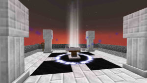 星明りの向こうに消えていくCoal EngineとAge 3:Minecraft SevTech Ages#29_挿絵16