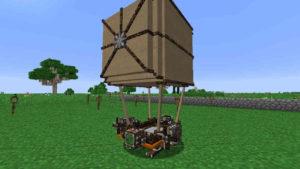 天翔ける機械仕掛けの船:Minecraft SevTech Ages#48_挿絵12