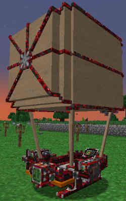 ViesCraftの飛行船をカスタマイズする:Minecraft SevTech Ages#49_挿絵9