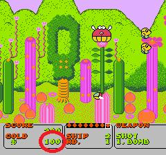 ファンタジーゾーンのプレイ日記1:レトロゲーム(ファミコン)_挿絵6