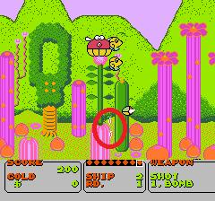 ファンタジーゾーンのプレイ日記1:レトロゲーム(ファミコン)_挿絵5