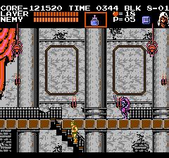 悪魔城伝説のプレイ日記8:レトロゲーム(ファミコン)_挿絵4