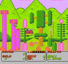 ファンタジーゾーンのプレイ日記1:レトロゲーム(ファミコン)_挿絵3