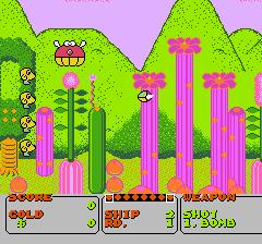 ファンタジーゾーンのプレイ日記1:レトロゲーム(ファミコン)_挿絵4