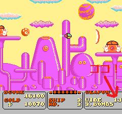 ファンタジーゾーンのプレイ日記2:レトロゲーム(ファミコン)_挿絵16