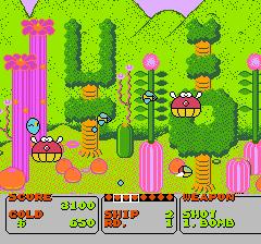 ファンタジーゾーンのプレイ日記2:レトロゲーム(ファミコン)_挿絵1