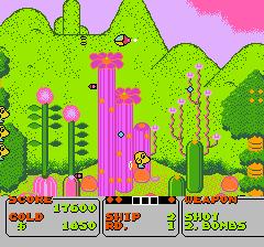 ファンタジーゾーンのプレイ日記2:レトロゲーム(ファミコン)_挿絵5