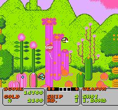 ファンタジーゾーンのプレイ日記2:レトロゲーム(ファミコン)_挿絵2