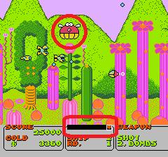 ファンタジーゾーンのプレイ日記2:レトロゲーム(ファミコン)_挿絵6